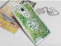 Multi Colors Dynamic Glitter Star Liquid Quicksand Mobile Phone Case For Huawei Ascend Mate 7