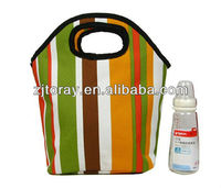 Foldable baby bottle inner cooler lunch bag