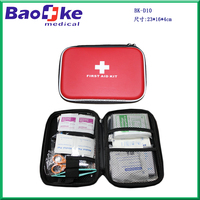 Outdoor expedition 1st aid travel kit kids medical case for hiking