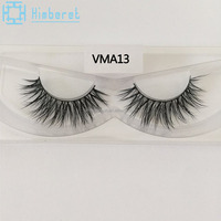 Own brand mink eyelash strip eyelashes mink distributor indonesia
