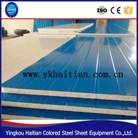 Prefabricated roof wall sandwich panel made in China