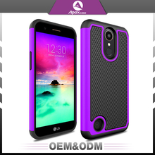 2017 high quality custom cell mobile phone case universal custom hybrid 2 in 1 waterproof anti-knock soft silicon cell cover
