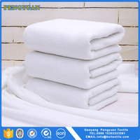 hotel Sauna towel pure white 100% cotton bath towel
