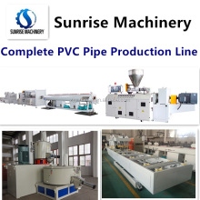 16-110mm PVC pipe making machine with price / PVC pipe extrusion production line