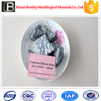 silicon calcium metal first grade for steel production/SiCa alloy/CaSi alloy