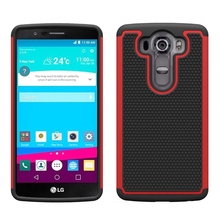 [TOPO] 2016 Hybrid combo football textures phone cover shockproof case for LG G4Pro V10