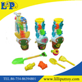 Newest summer toy colorful animal beach bucket toy