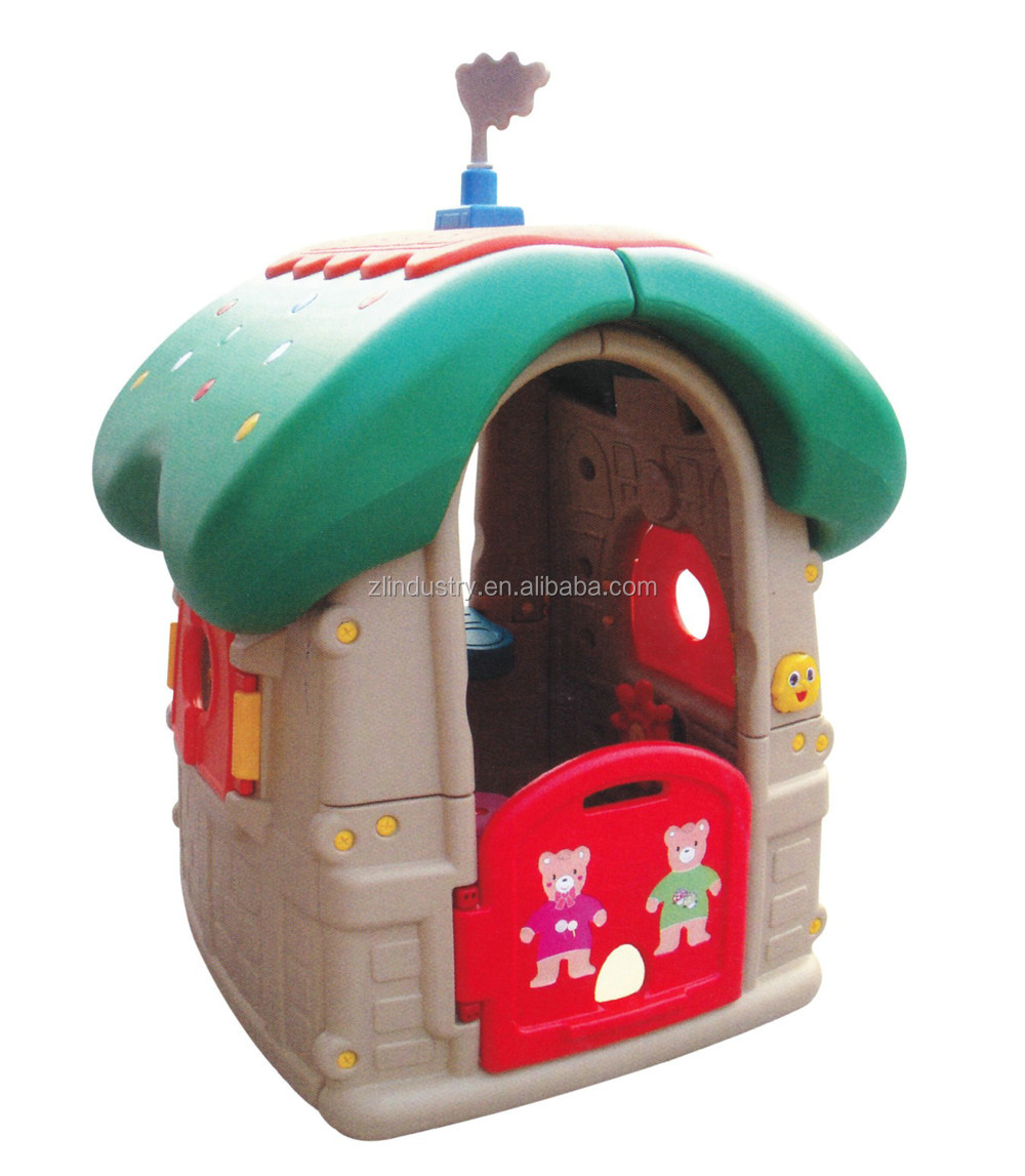 2017 new arrivals plastic child indoor/outdoor swing playhouse