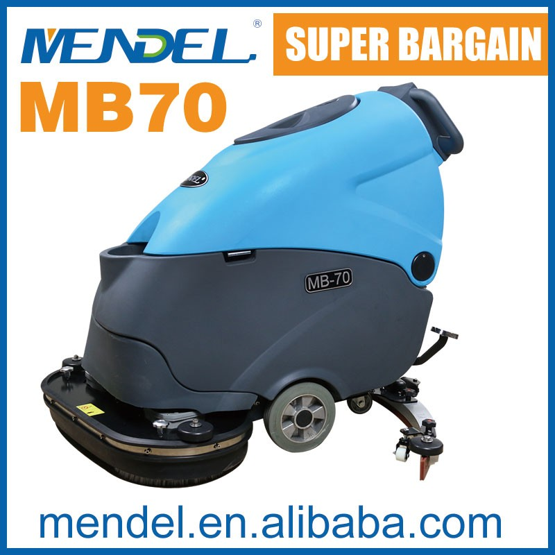 MB70 Double Brush Auto Hand Push Sweeper With Ametek Suction Motor