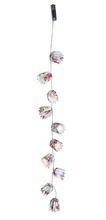 Party decorations Spring paper garland with light,led paper lantern