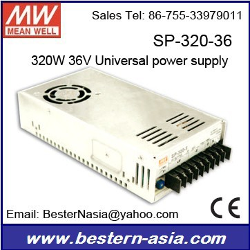 300w smps for industrial 36V Meanwell SP-320-36