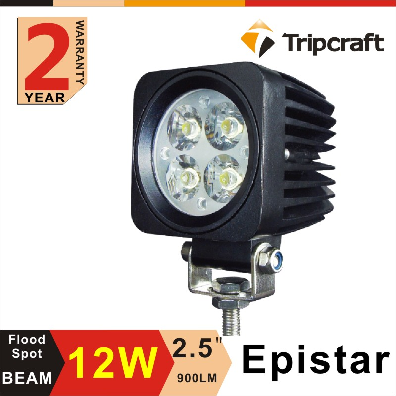2.5 INCH 12w Off road Car Rechargeable Blue Point LED Work Light
