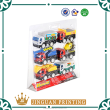 custom plastic clamshell toy blister packaging