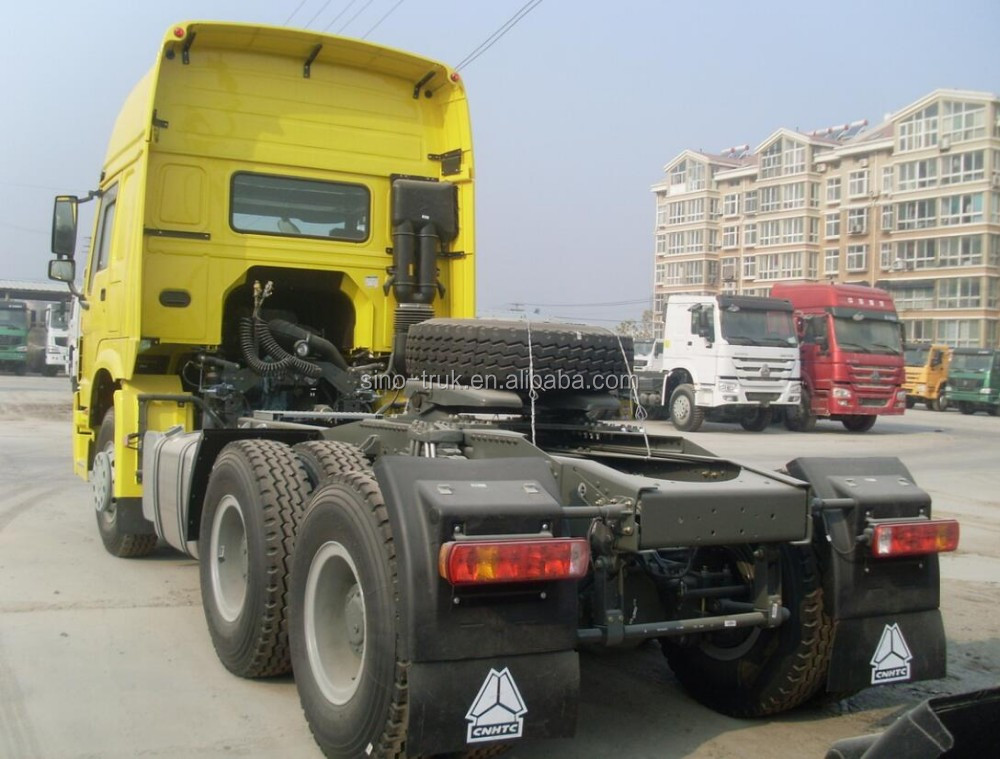China sinotruk howo tractor truck tractor head with low price sale