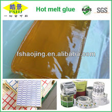 Thermoplastic Adhesive for Label