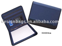graceful pvc&600D nylon file folder