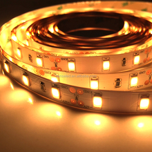 UL Listed Nonwaterproof 12V 7.5W/FT 18LED 750LM Per Foot 16.4FT Roll 80RA CRI Warm White 2700K 5630 SMD Led Tape Led Strip Light