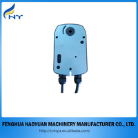 electric valve actuator manual mechanism vacuum actuator 220V for damper