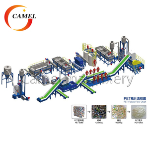 PET bottle recycling machine/plastic washing machine/plastic recycling plant