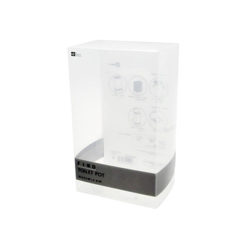 Hot selling clear plastic transparent packaging boxes pvc boxes packaging