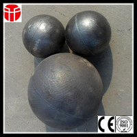 90mm high chrome casting steel ball in grinding machine