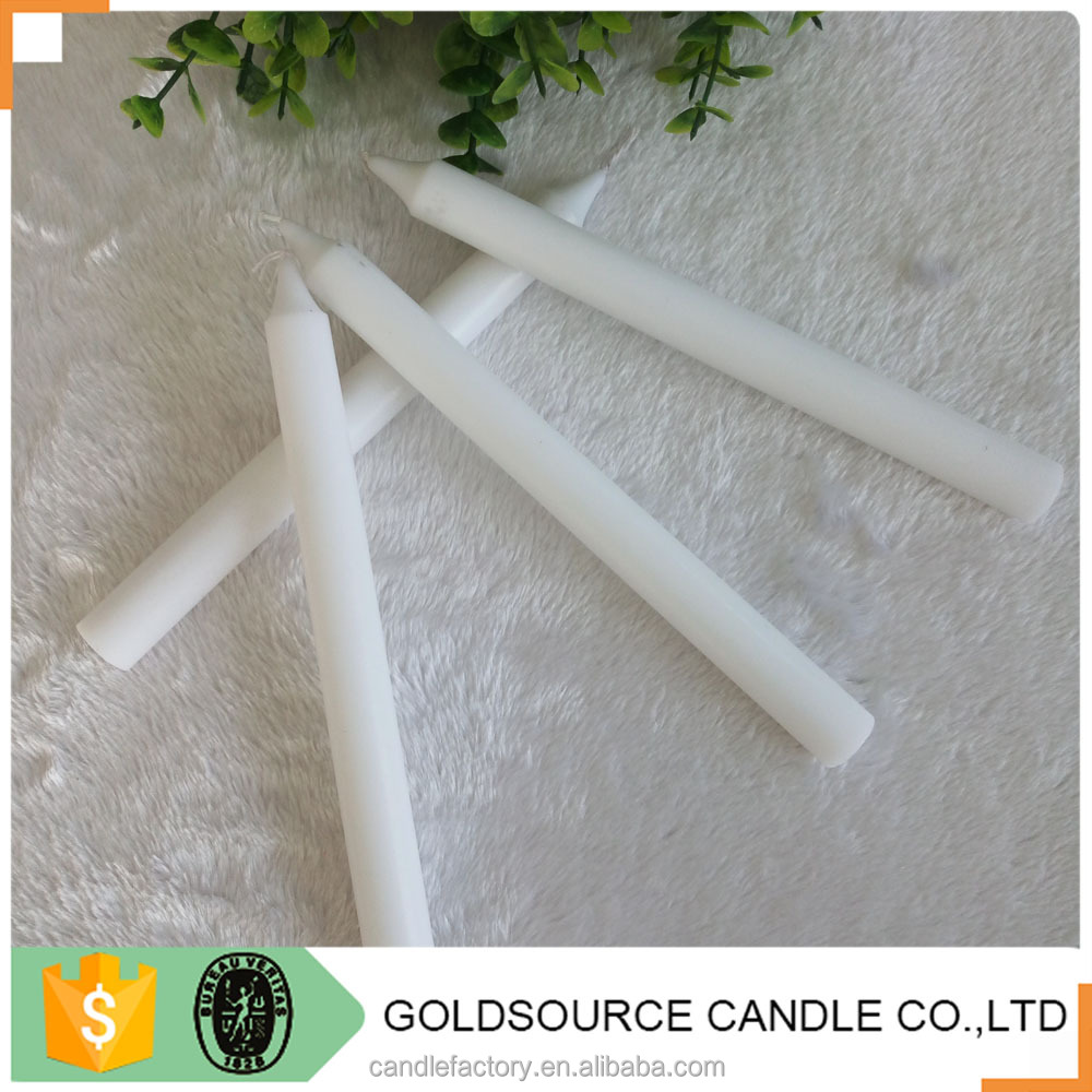 White Illuminating Stick Candle for daily using