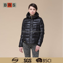 2014 Simple Short Style Women Winter Jacket With Hood