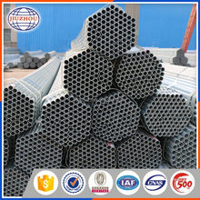 construction material hot dipped galvanized rigid steel pipe tianjin in china