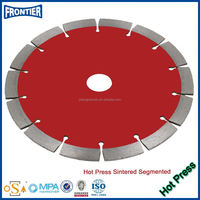 Sintered Hot Pressed Small abrasive cutting grinding wheel For Granite Sandstone