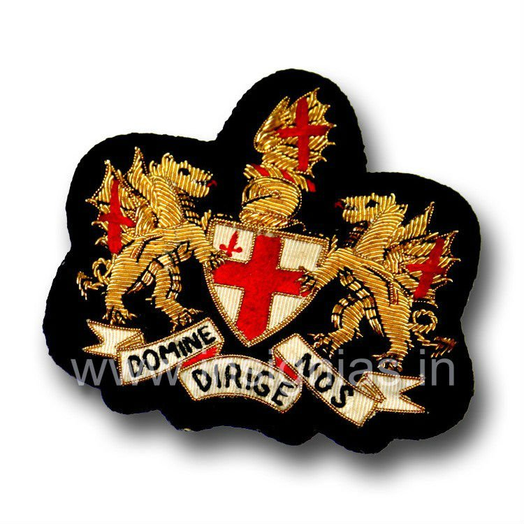 City of London Bullion Blazer badge