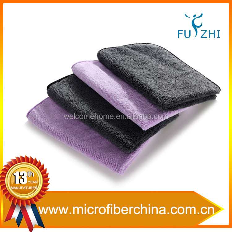 Extra soft terry microfiber cleaning cloth for household cleaning