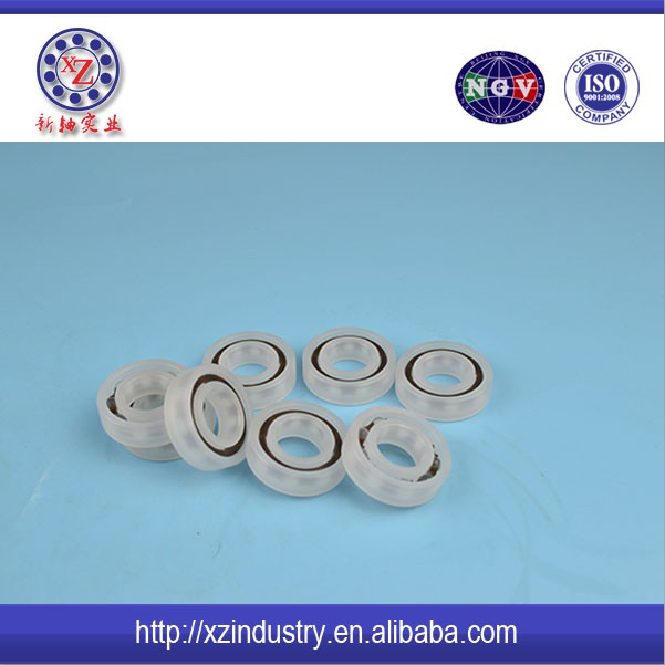 High speed precise plastic ceramic deep groove ball bearings 6002 for window or airconditioner