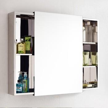 Small waterproof sliding door bathroom vanity mirror for Waterproof bathroom cabinets