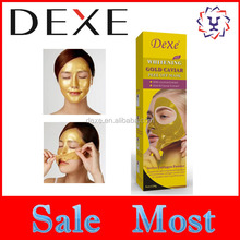 2017 hot top sale most golden collagen peel off facial gold mask wholesale OEM ODM