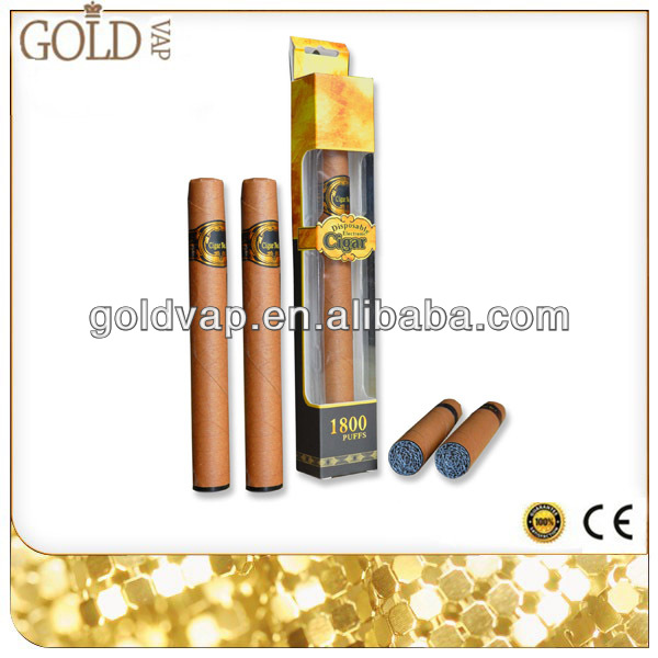 2014 USA best selling 1800 puffs wholesale disposable e-cigar rechargeable e-cigar