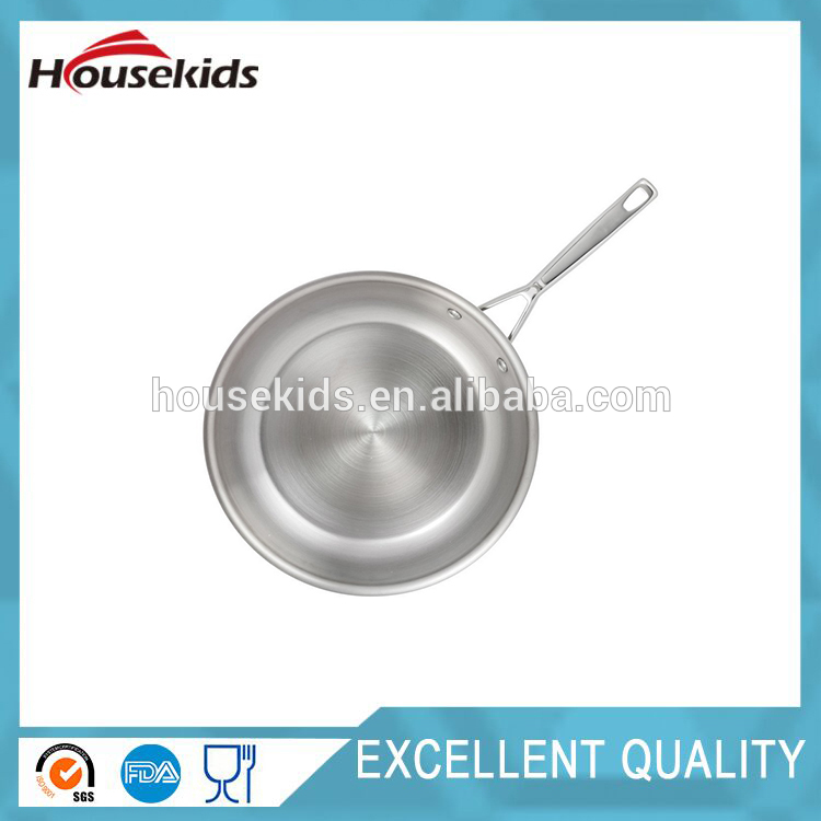Professional tri ply stainless steel cookware with low price