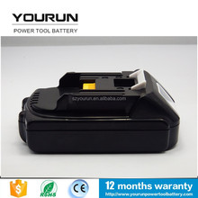New replacement power tools battery for makita 18v 1.5ah bl1815 battery 18v 1500mah li-ion tool battery pack for bl1815