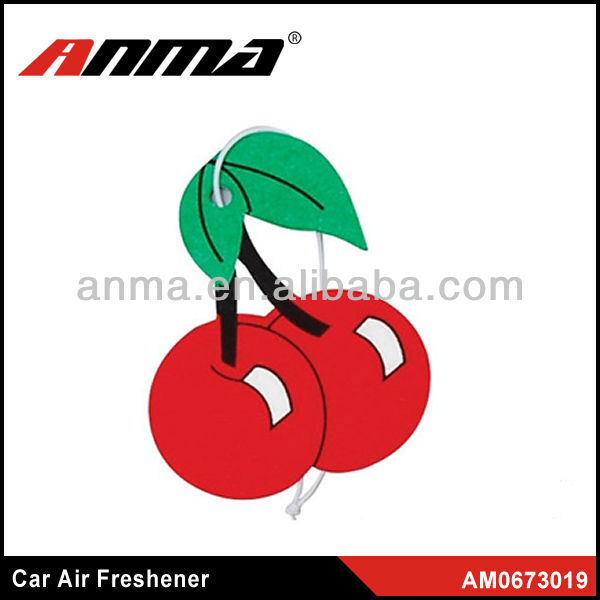 Fruit shape good smell in American x car air freshener wholesale for truck