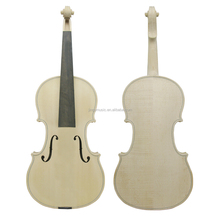 Jinqu Golden brands of Wholesale High Quality Hand Made unvarnished 4/4 Unfinished white violin