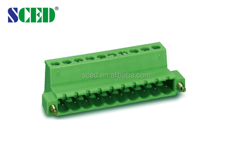 Single screw connectors used for security communication MaleTerminal Block Plug-in Terminal Blocks