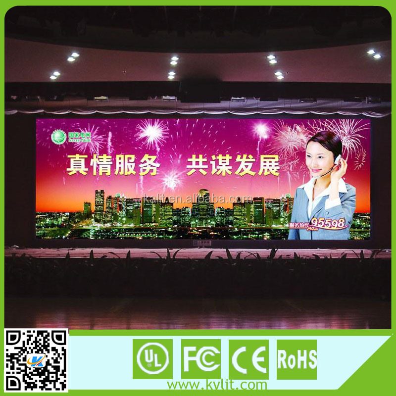 Money currency exchange rate P7.62 RGB indoor led display screen