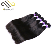 Wholesale Straight Brazilian Hair Weft Natural Color Remy Hair 100% Human Hair Extension