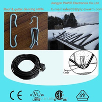 heat cord for roof wholesale electric gutter de-icing cable