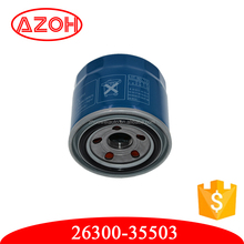 Hyundai Ki a car engine parts auto oil filters cleaner replacement OEM.26300-35503,2630035503
