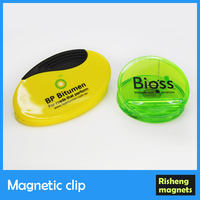 neodymium magnetic clip color magnet clips