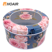 Exquisite tin gifts box with window can customized