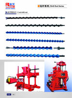 manufacturer of Spiral drill pipes ruilong drill/Mining Drill Rod