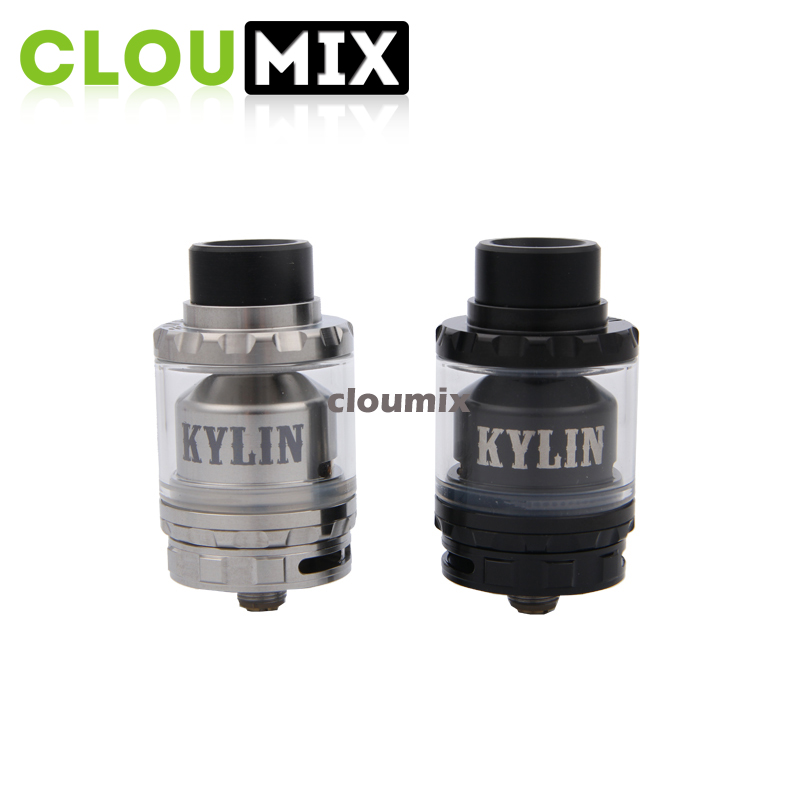 Vandy Vape black KYLIN RTA with capacity 2ml-6ml and Plenty of air holes Kylin RTA Clearomizer kit