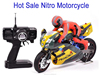 Victory Hawk 1:5 scale RC nitro gas power motorcycle toys