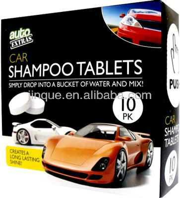 AUTO EXTRA CAR WASH SHAMPOO TABLETS